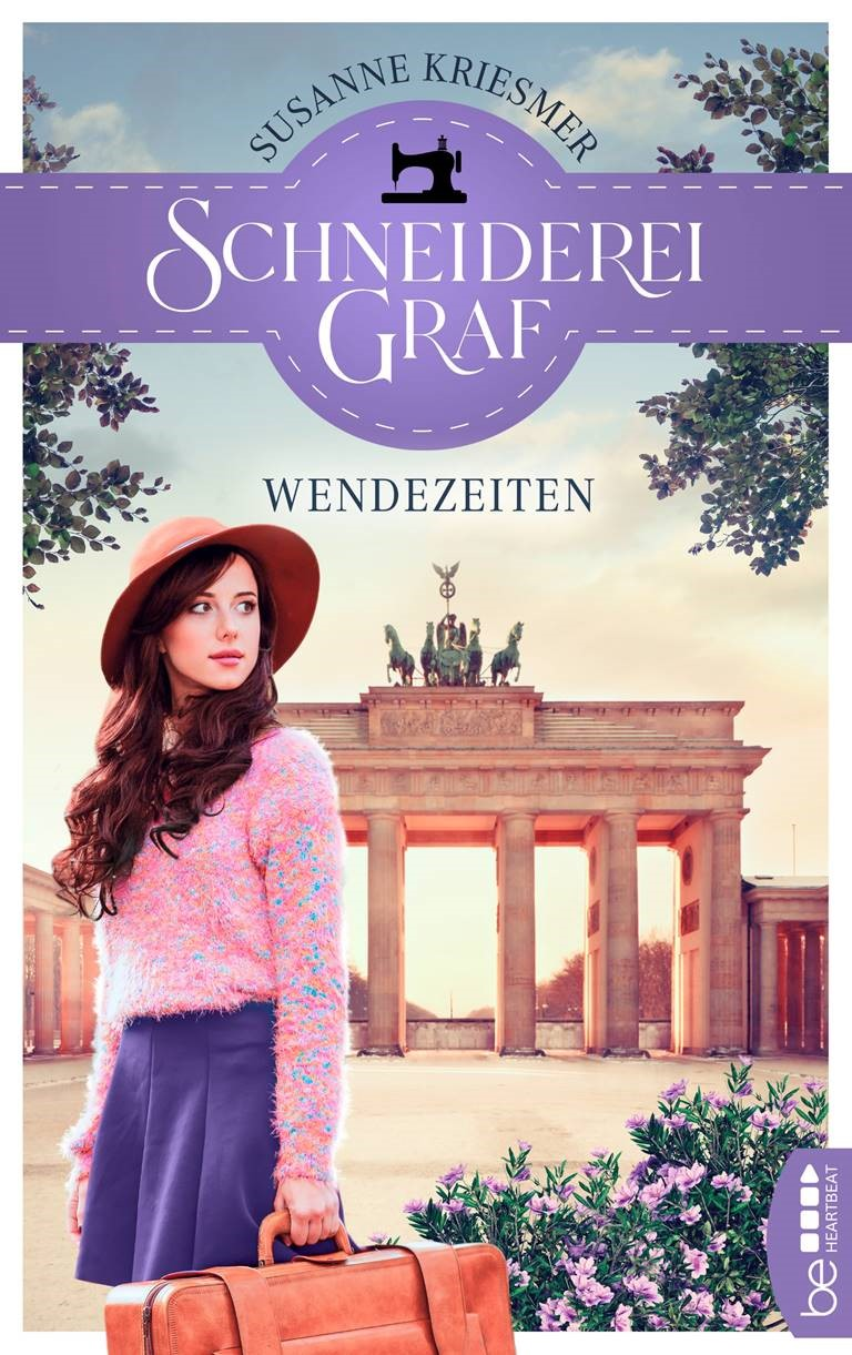 """Cover """"Schneiderei Graf - Schicksalszeiten"""" von Susanne Kriesmer"""
